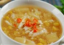 Resep Sup Asparagus Kepiting Asli Lezat