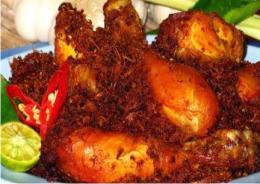 Resep Bacem Ayam Serundeng yang Lezat