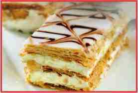 Resep Kue Mille Feuille Manis dan Lembut