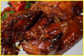 Resep Ayam Goreng Saus Karamel Lezat