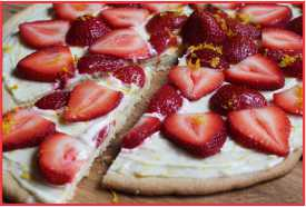 Resep Pizza Strawberry yang Istimewa
