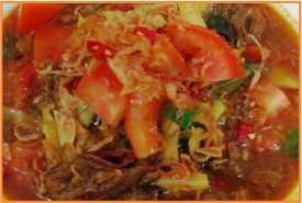 Resep Kambing Masak Tomat Asli Nikmat