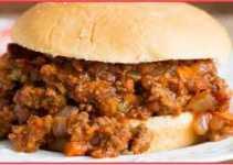 Resep Burger Sloppy Joe Spesial Nikmat Banget
