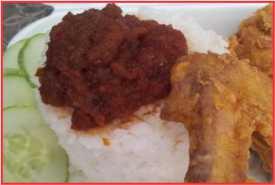 Resep Sambal Nasi Katok Khas Brunei Enak Banget