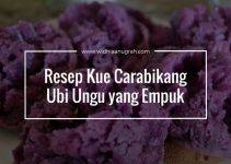 Resep Kue Carabikang Ubi Ungu yang Empuk