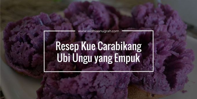 resep kue carabikang ubi ungu yang empuk widhiaanugrah com