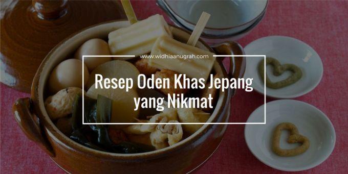 Resep Oden Khas Jepang yang Nikmat