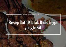 Resep Sate Klatak Khas Jogja yang lezat