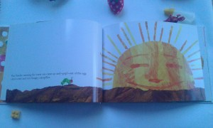 Konsep Siang di Buku The Very Hungry Caterpillar