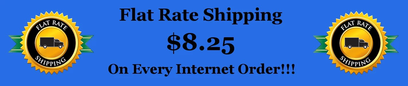 Flat Rate Shipping Banner