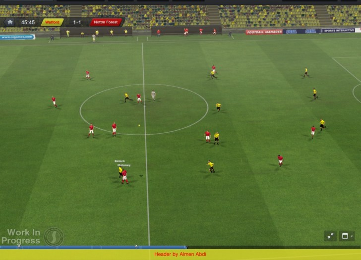 football manager 2013 match graphics