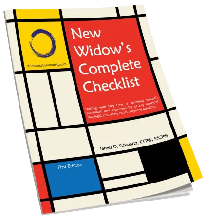 Financial Planning Checklist for Widows and Widowers