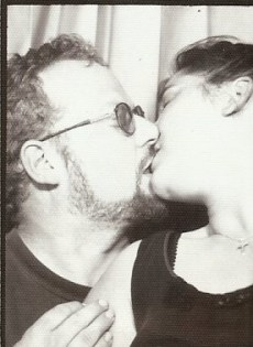 Mark and Jane Kissing