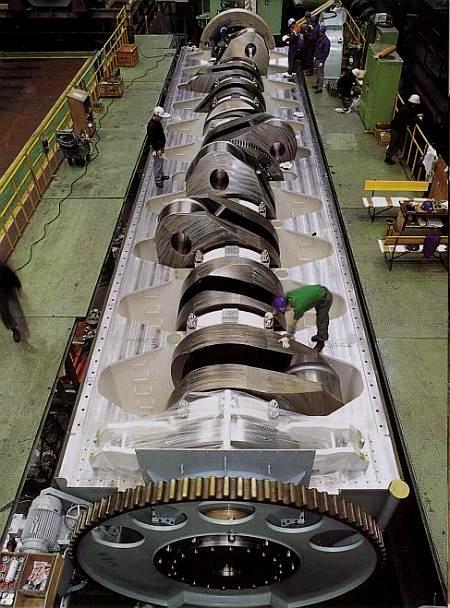 diagram of the titanic cargo cat 5 wiring cctv der größte dieselmotor welt - wie gross schwer weit-wie hoch