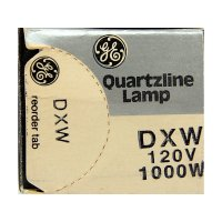 GE General Electric DXW Quartzlampe 120V 1000W Quartzline