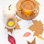 Diy Untersetzer Aus Kork Selber Machen Herbstdeko Fur Den Tisch Diy Blog Do It Yourself Anleitungen Zum Selbermachen Wiebkeliebt
