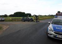 Kolizja samochodów osobowych w Witunii
