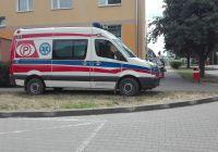 Pomoc w otwarciu drzwi do mieszkania w bloku przy ulicy Wojska Polskiego