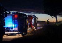 Pożar w Górowatkach ! Na miejscu trzy zastępy straży pożarnej [FOTO]