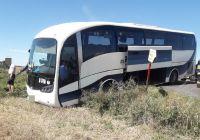 Samochód osobowy zderzył się z autobusem PKS