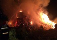 PILNE: Pożar stogu Witkowie