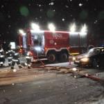 Zimowe ćwiczenia strażaków z powiatu złotowskiego