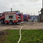 Roztoki: Pożar kotłowni w budynku gospodarczym