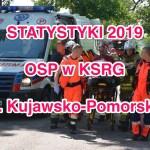 Statystyki wyjazdów jednostek OSP w KSRG za 2019 rok