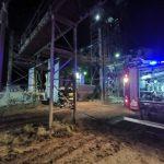 Skarpa: Trzy zastępy straży pożarnej interweniowały na terenie byłych PGR