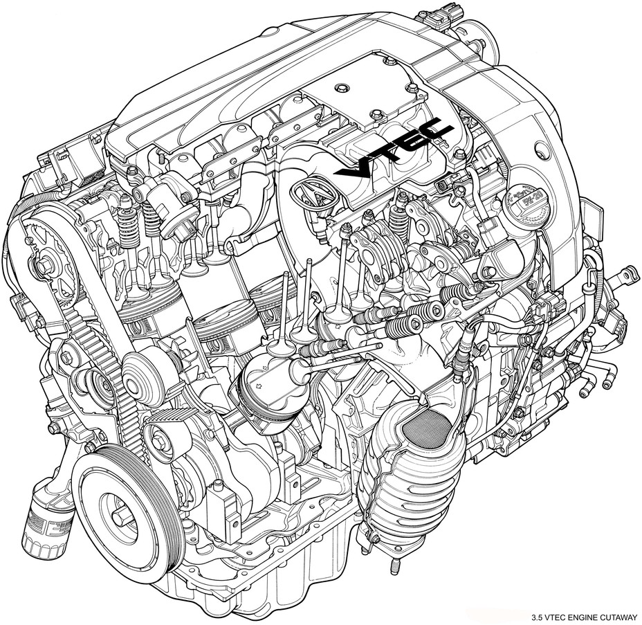 Acura 35 Rl Engine