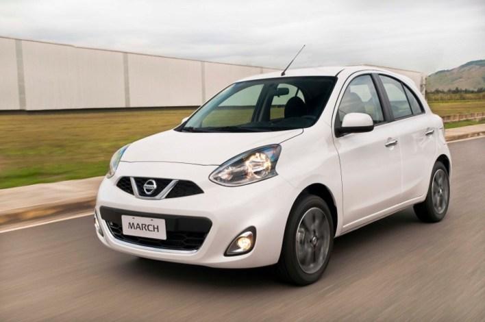 Nissan March ofrece el costo de mantenimiento más bajo de su segmento en Brasil