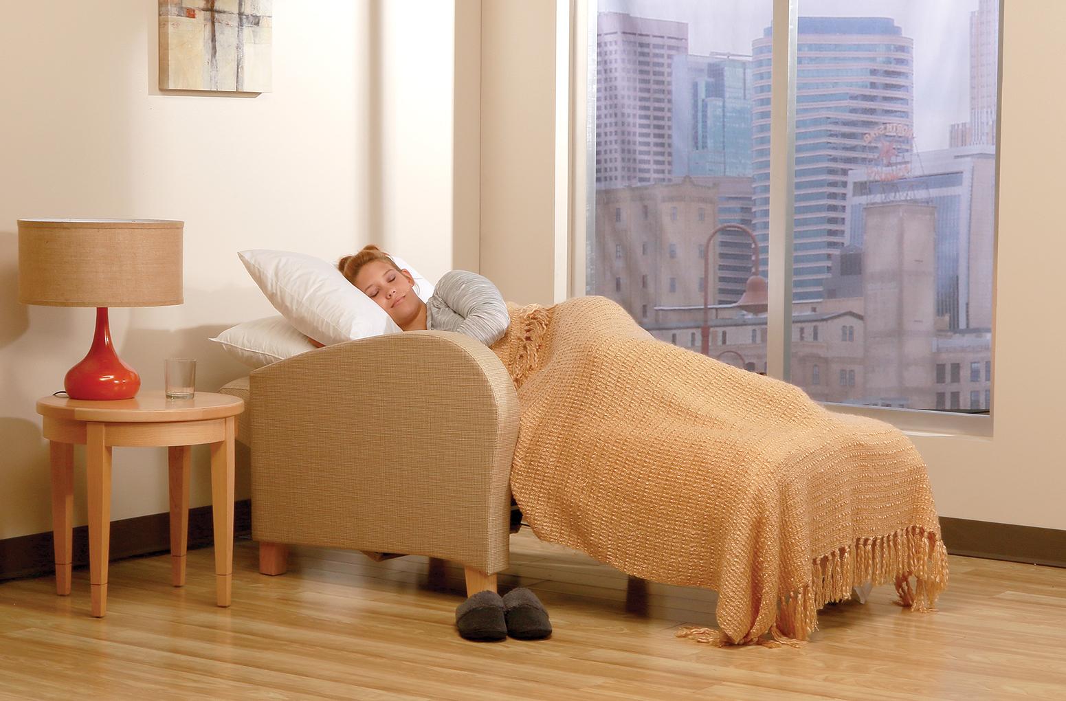 arris sleep chair  Wieland Healthcare Furniture
