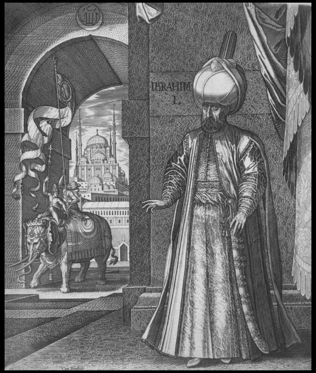 Melchior Lorck, Portret Sulejmana Wspaniałego, 1559