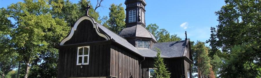 Kościół drewniany w Łomnicy k. Nowego Tomyśla
