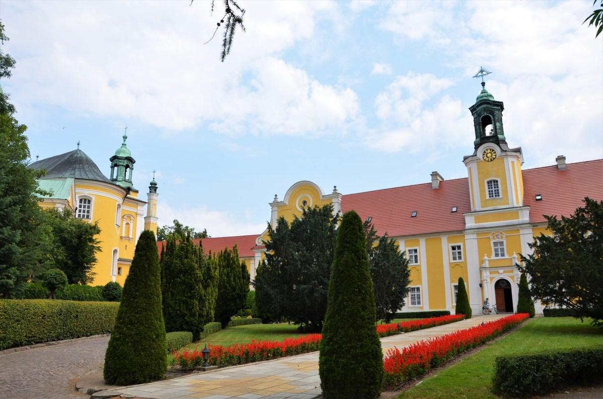 Zabudowania klasztorne na Świętej Górze