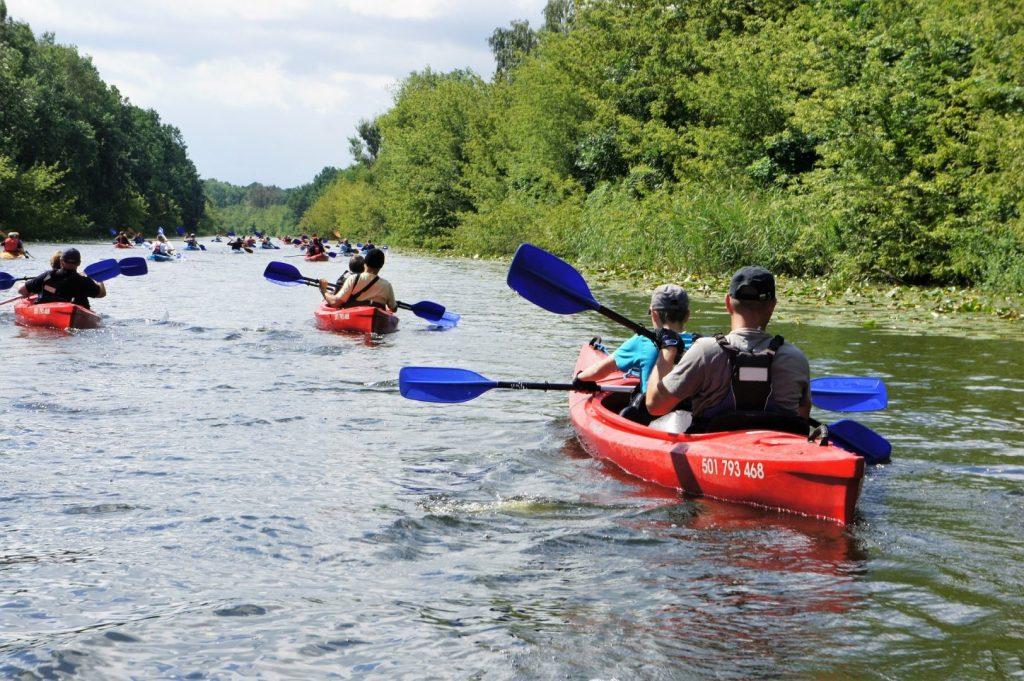 Spływ kajakowy na Kanale ślesińskim