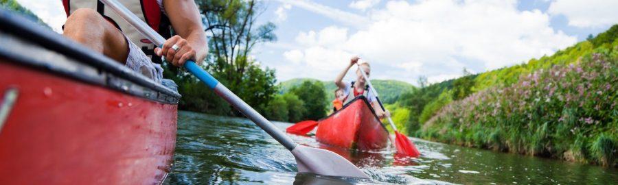 kayaking in wielkopolska