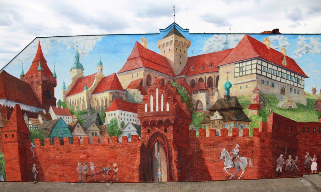 Mural w Pyzdrach