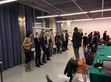 Ein letzter Moment der Spannung, bevor Vorsitzender LSI Mag. Franz Tranninger die Ergebnisse bekanntgibt