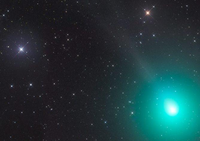Komet 46P/Wirtanen (15.12. größte Annäherung )