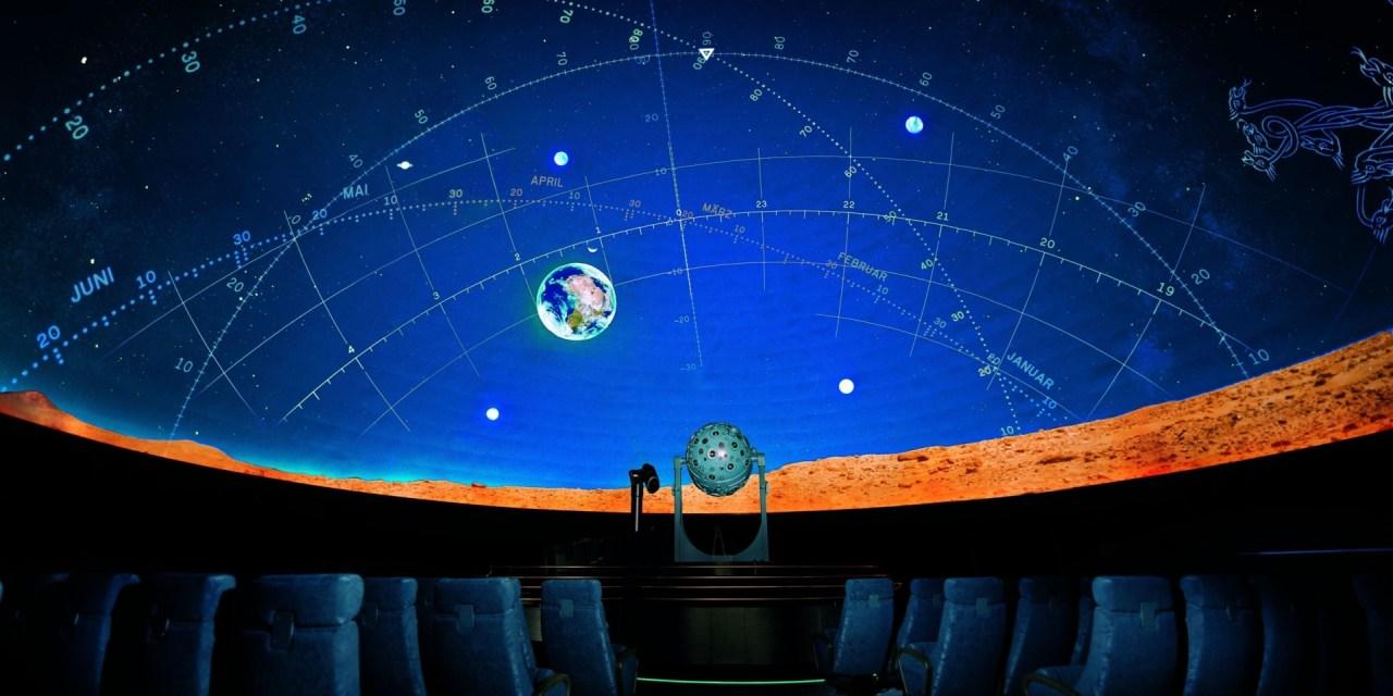 Planetarium: Anmeldungen abgeschlossen