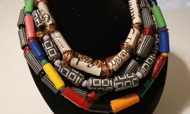 Kreativ mit Papier, Draht, Textilien und Leder
