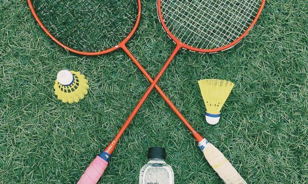 Badminton mit Lechner und Schmidhammer