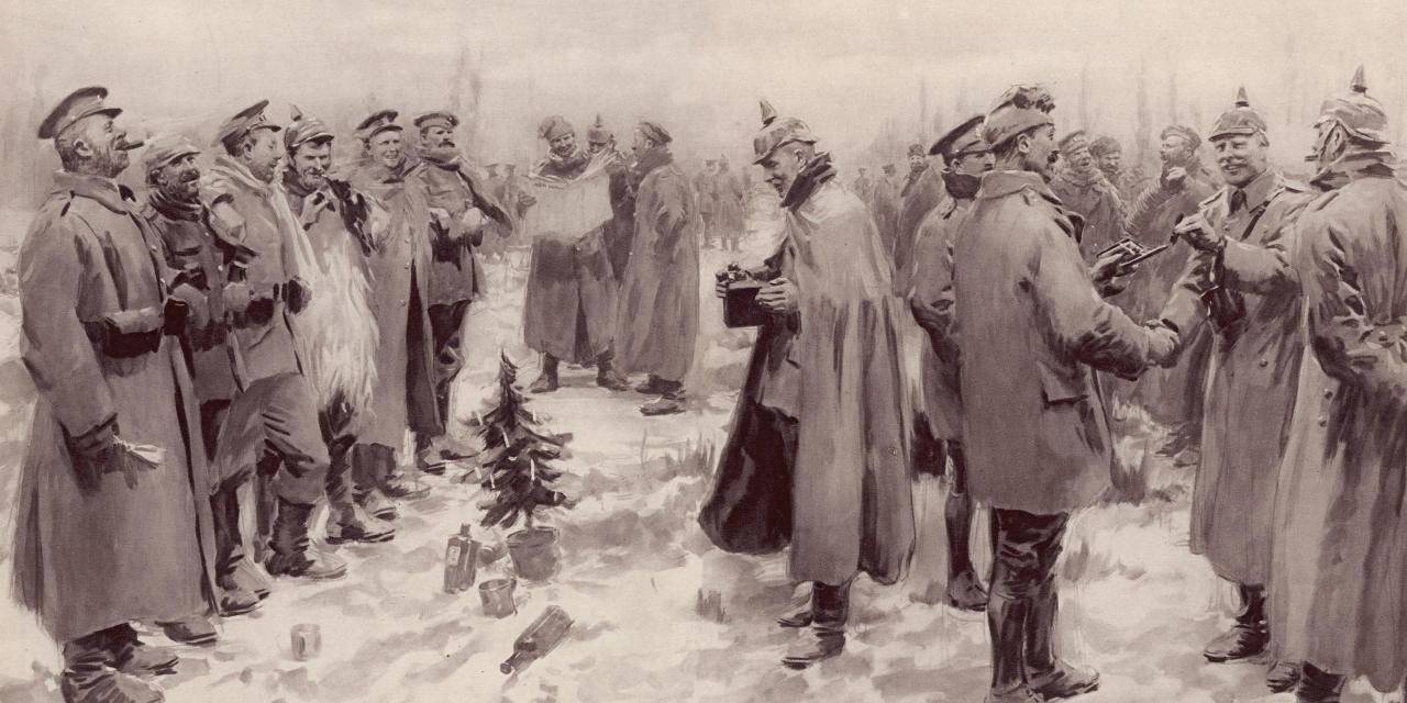 Weihnachtsfrieden 1914 / The Christmas Truce 1914