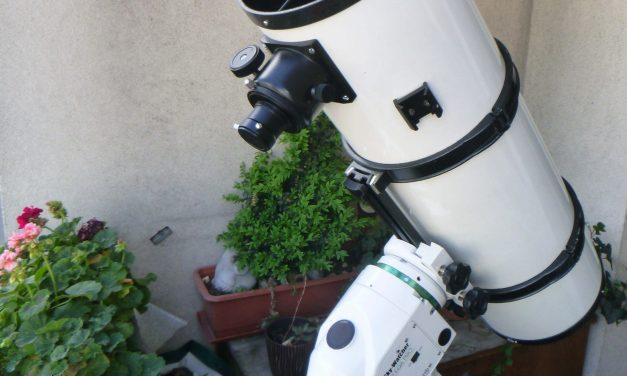 Astronomie – Exoplanet mit 20 cm Teleskop und DSLR 200 D detektiert!