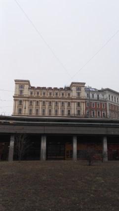 A Palais Ephrussi (utcaszint alól fényképezve)