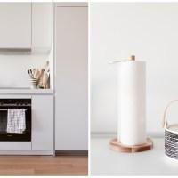 eine Designküche in Weiß von Bulthaup