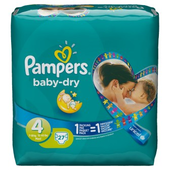 Pampers Baby Dry UNICEF