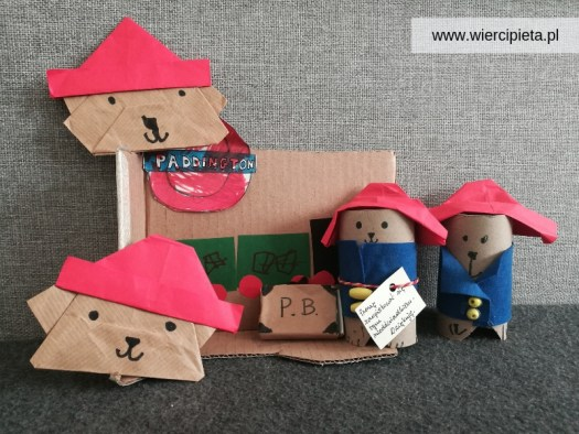 Miś Paddington DIY z dzieckiem