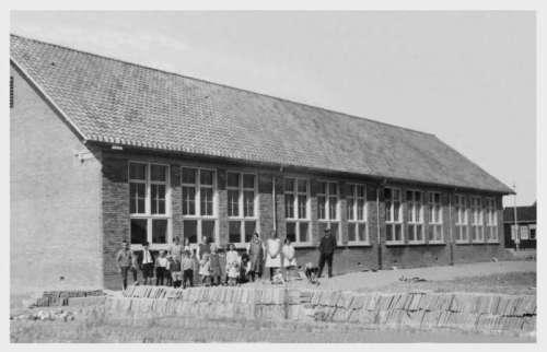 1932 eerste Wieringermeerschool in Slootdorp
